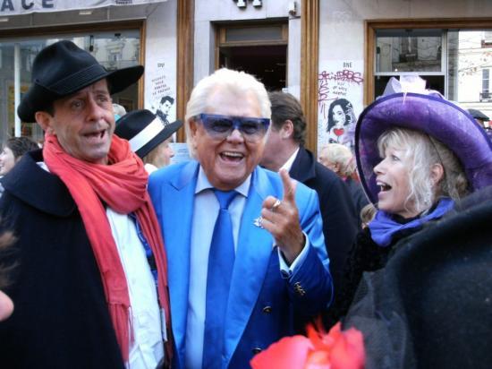 Avec Michou et Ricardo