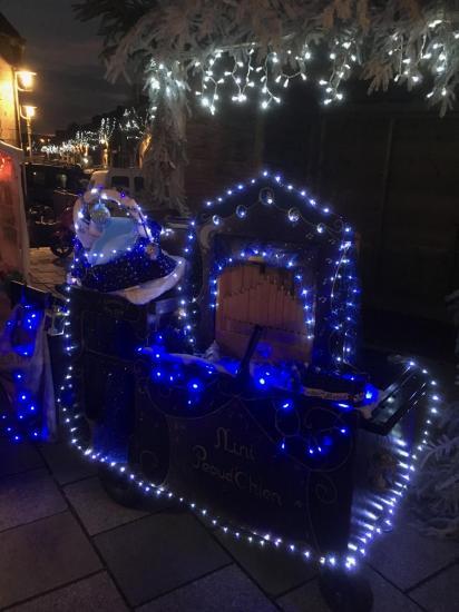 L'orgue de Nini attend le Père Noël