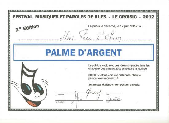 Palme d'argent Le Croizic 2012